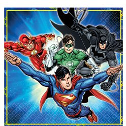 Justice League Servetten - 2 laags Papier