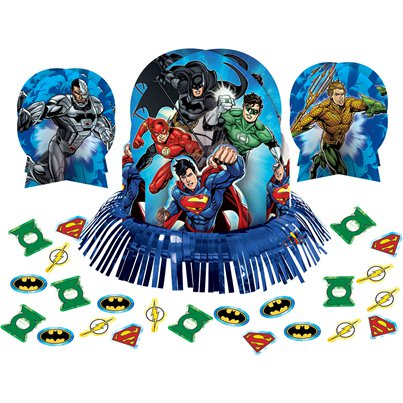 Justice League Tafeldecoratie Set
