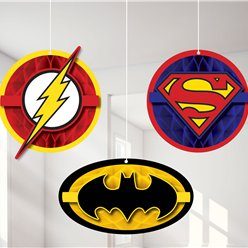 Justice League Hangende Cutout Decoraties