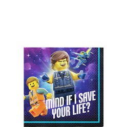 Lego Movie 2 Drank Servetten - 25 cm