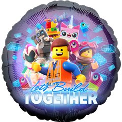 Lego Movie 2 Ballon - 46 cm Folie