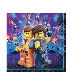 Lego Movie 2 Lunch Servetten - 33 cm