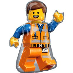 Lego Movie 2 Supershape Ballon - 61 cm x 81 cm Folie