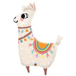 Llama Supershape Ballon - 114 cm Folie