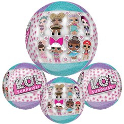 L.O.L Surprise Orbz Ballon - 41 cm Folie