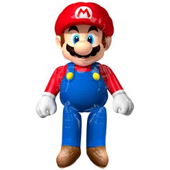 Super Mario Airwalker Ballon - 152 cm Folie