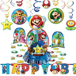 Super Mario Kamer Decoratieset