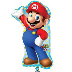 Super Mario Supershape Ballon - 84 cm Folie