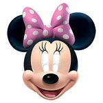 Minnie Mouse - Kartonnen Maskers