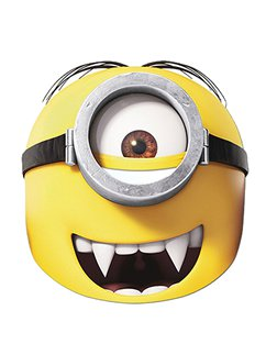 Minions Gone Batty Masker