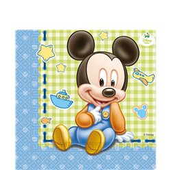 Baby Mickey Servetten - 2 laags Papier