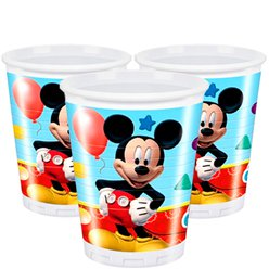 Mickey Mouse Bekers - 200 ml Plastic Bekers