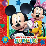 Mickey Mouse Servetten - 2laags Papier