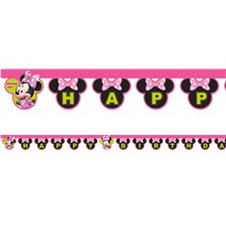 Minnie Mouse 'Happy Birthday' Banner