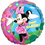 Minnie Mouse Ronde Ballon - 46 cm Folie