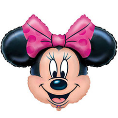 Minnie Mouse Supershape Ballon - 71 cm Folie
