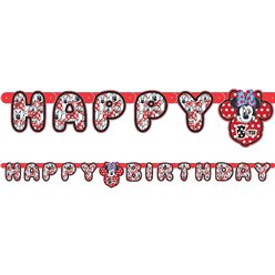 Minnie Mouse Letter Banner