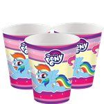 My Little Pony - 266 ml Papieren Feestbekers