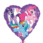 My Little Pony Hart Ballon - 46 cm Folie