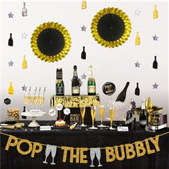 Deluxe Bubbels Bar Decoratie Set