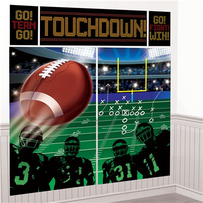 Football Muurdecoratie Decoratie Kit - 1.5m