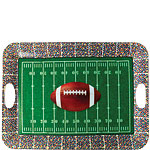 Football Plastic Dienblad