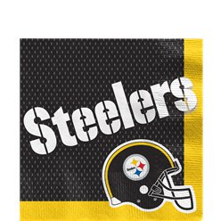 NFL Pittsburgh Steelers Servetten - Papieren Lunch Servetten