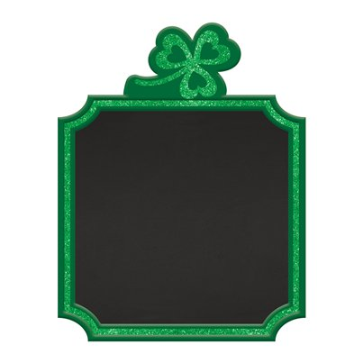 St Patrick's Day Staand Schoolbord - 23 cm
