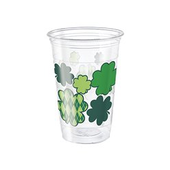 Shamrock Plastic Bekers - 455 ml