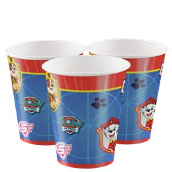 Paw Patrol Papieren Bekers - 250 ml