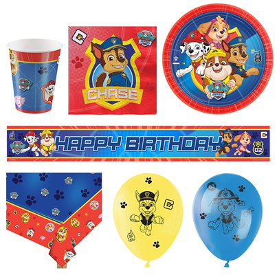 Paw Patrol Party Pack - Deluxe Pakket voor 16
