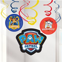 Paw Patrol Swirl Decoraties - 60 cm