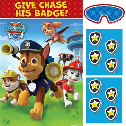 Paw Patrol Pin de Button Spel