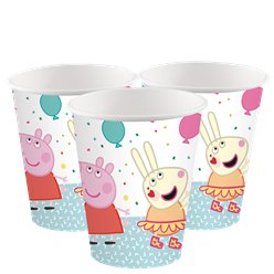 Peppa Pig Papieren Bekers - 250 ml