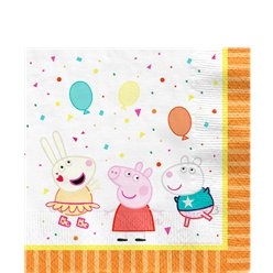 Peppa Pig Lunch Servetten - 33 cm