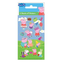 Peppa Pig Sticker Vel