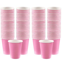 Babyroze Koffiebekers - 340 ml Papieren Bekers