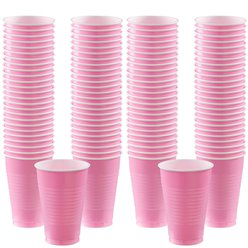 Babyroze Bekers - 355 ml Plastic Feestbekers