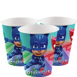 Pyjamahelden PJ Mask Papieren Bekers - 180 ml