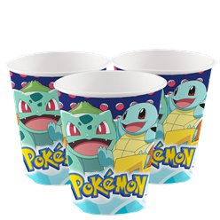 Pokémon Papieren Bekers - 250 ml