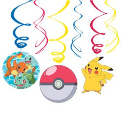 Pokémon Hangende Swirl Decoraties
