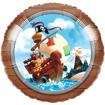 Piratenschat Folie Ballon - 40 cm