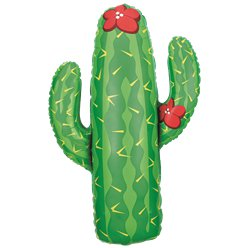 Cactus Supersize Ballon - 104 cm Folie