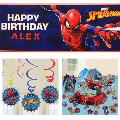 Spider-Man Classic Decoratie Set