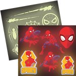 Spiderman Glow in the Dark Stickers
