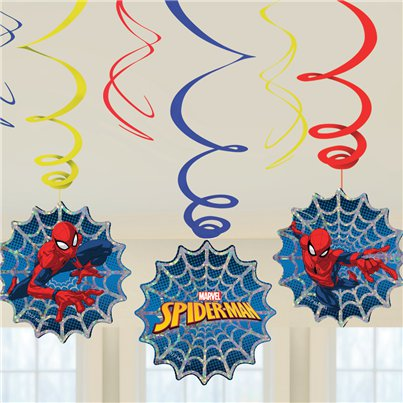 Spider-Man Swirl Decoratie