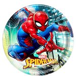Spiderman Team Up Feest Bord - 23 cm
