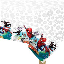 Spiderman Team Up Plastic Tafelkleed - 1.8m