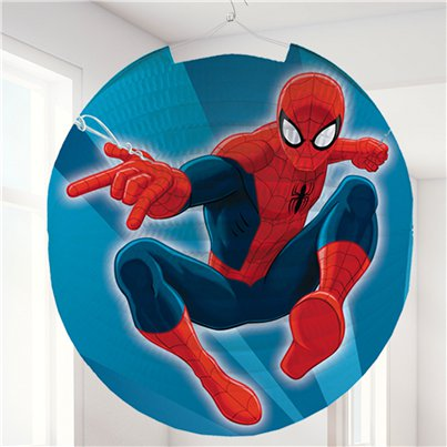 Spiderman Ronde Papieren Lampion