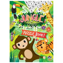 Mini Jungle Puzzelboek